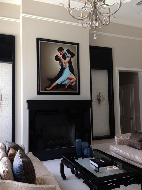 Wholesale Custom Picture Framing Art Mirrors